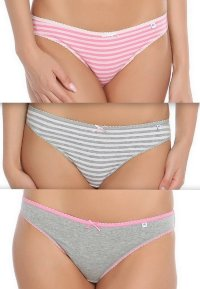Трусики слип (3 шт) Pretty Polly Alice ES013C PFED