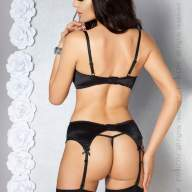 Комплект Passion Eve set with open bra Black - EVE-SET-WITH-OPEN-BRA-black-back.jpg