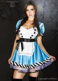 Костюм ChiliRose Alice IN Wonderland 3354