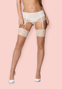 Чулки Obsessive 874 STO-4 stockings