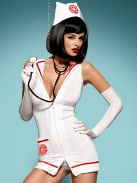 Костюм Obsessive EMERGENCY DRESS STETHOSCOPE