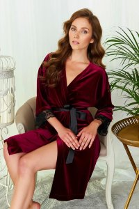 Халат Doctor Nap SWW.9573 Dark Red