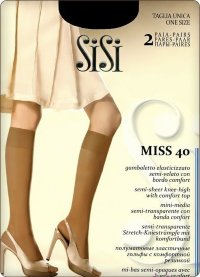 Гольфы (2 пары) SiSi Miss 40 New