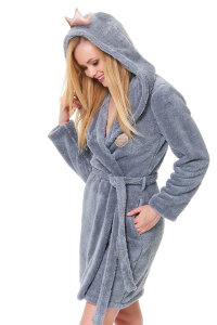 Халат Doctor Nap SSW.9571 Grey